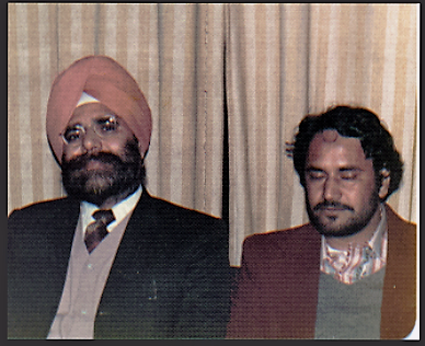 Dr Attar Singh and Ajmer Rode