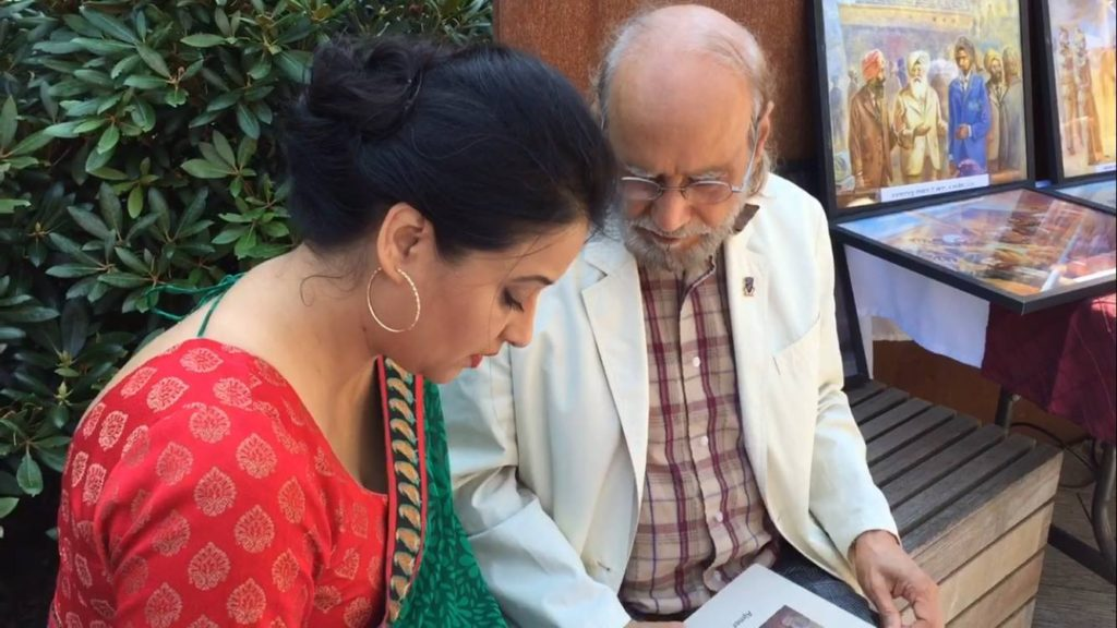 Meera Gill with AjmerRode - Komagata Maru function 23July2016